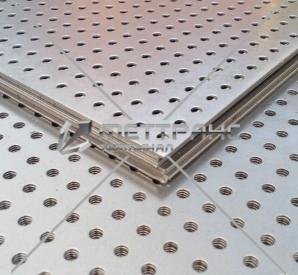 Лист алюминиевый перфорированный в Абакане
